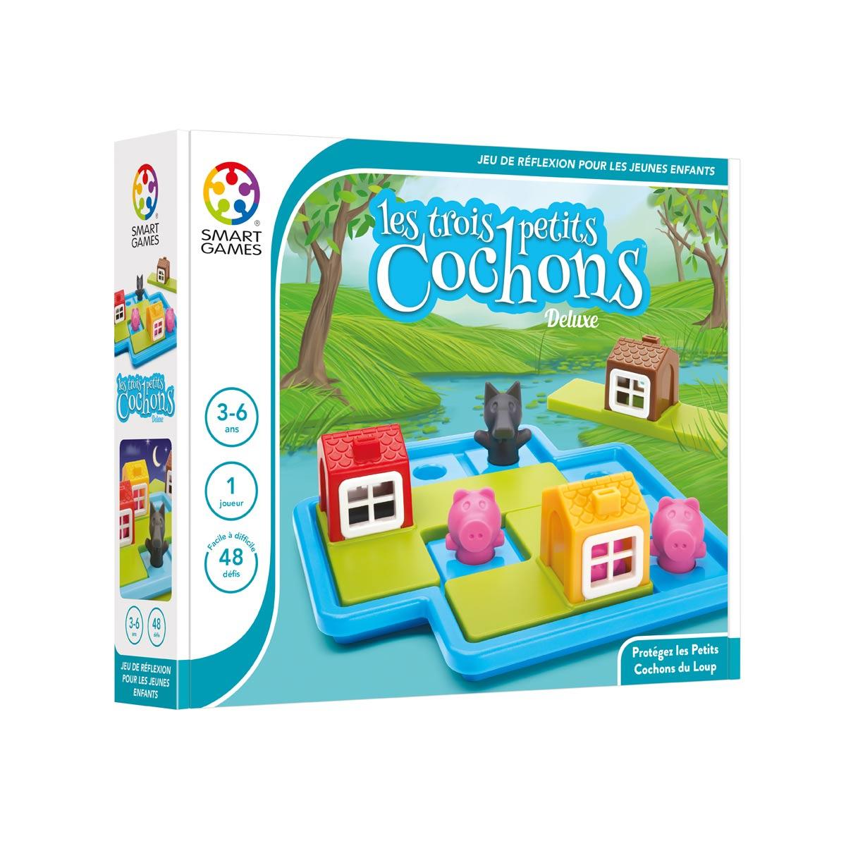 Casse-Tête Les 3 Petits Cochons avec Jeux Pour Petite Fille De 4 Ans Gratuit