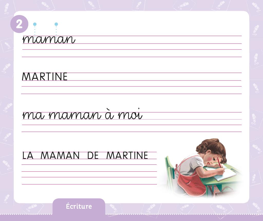 Casterman - À La Maternelle Avec Martine - Grande Section à Grand Section Exercice