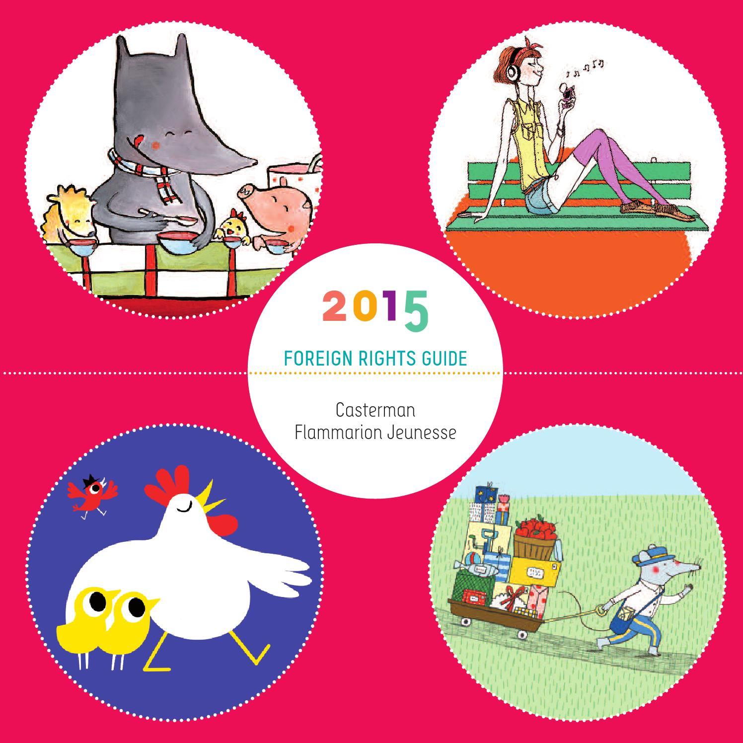 Casterman-Flammarion-Autrement Rights Guide Bologna 2015 Web à Tangram Grande Section