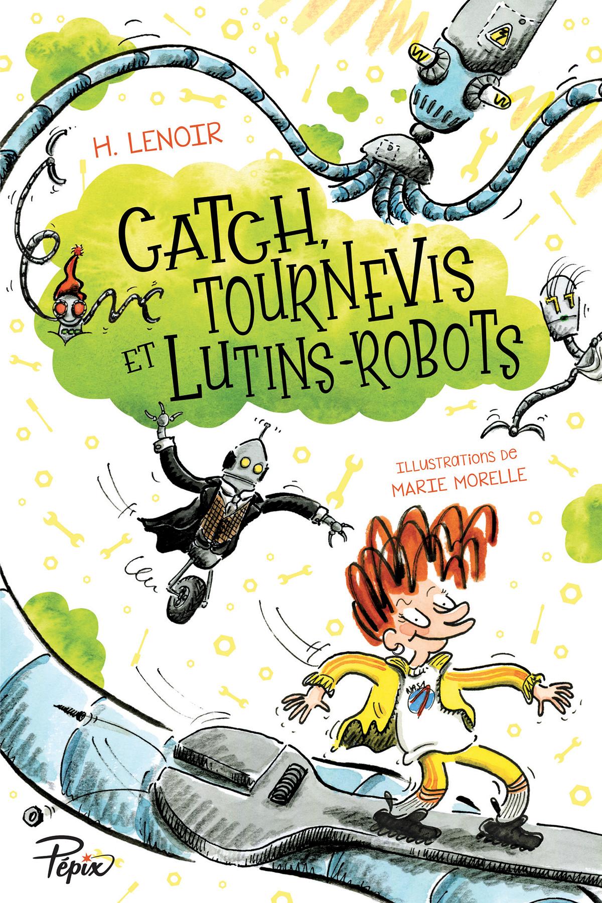 Catch, Tournevis Et Lutins-Robots tout Jeux Lulu Le Lutin
