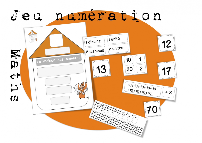 Ce1: Maths: Jeu De Numération De 1 À 999 | Bout De Gomme intérieur Jeux De Maths Facile
