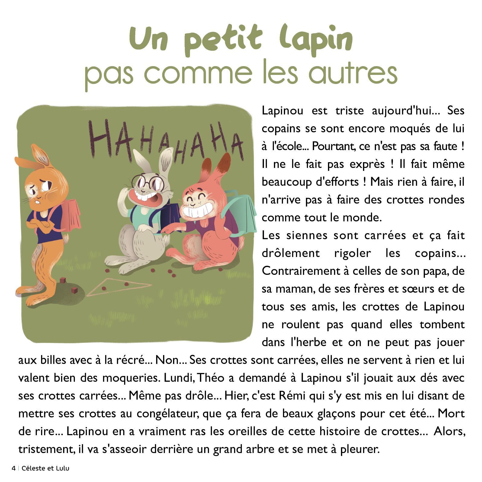 Céleste Et Lulu Orléans N°2 - Calameo Downloader serapportantà Lapin Lulu