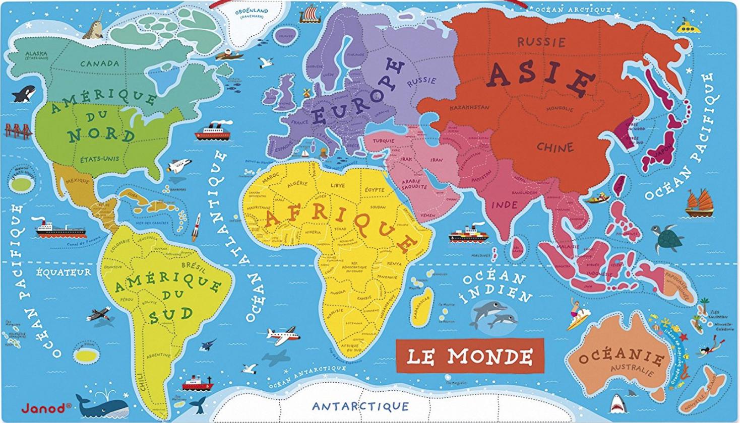 Centre De Géographie – Lala Aime Sa Classe intérieur Jeux De Carte Geographique Du Monde