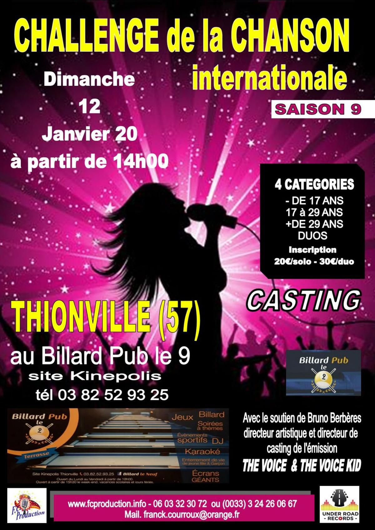 Challenge De La Chanson Internationale : Concert Chanson dedans Inscription Jeux De Fille