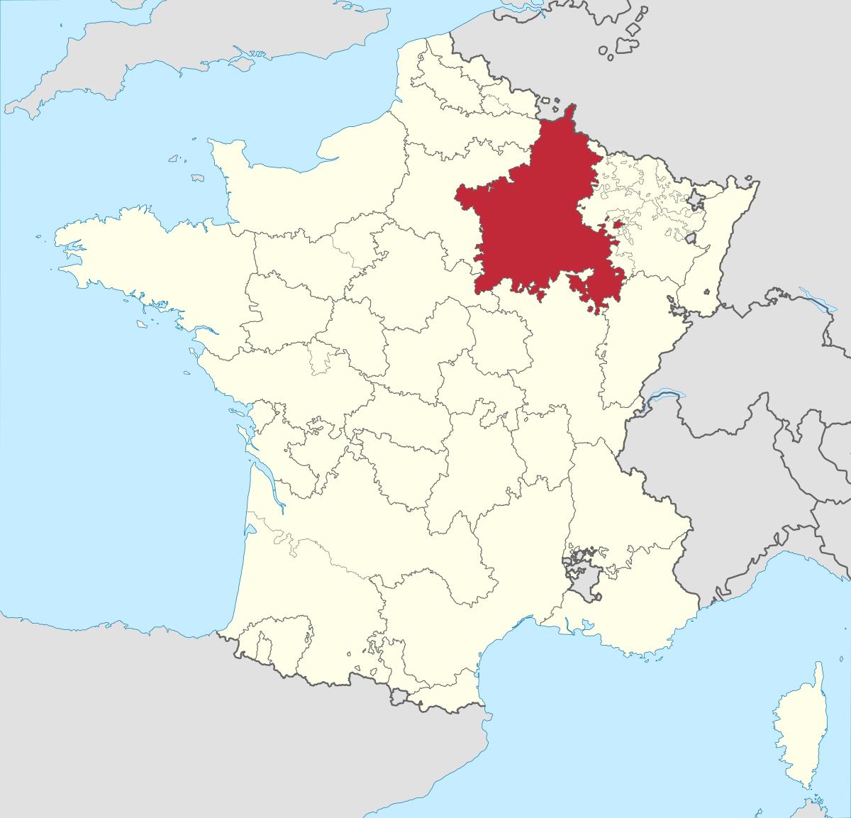 Champagne (Province) — Wikipédia encequiconcerne Carte Anciennes Provinces Françaises