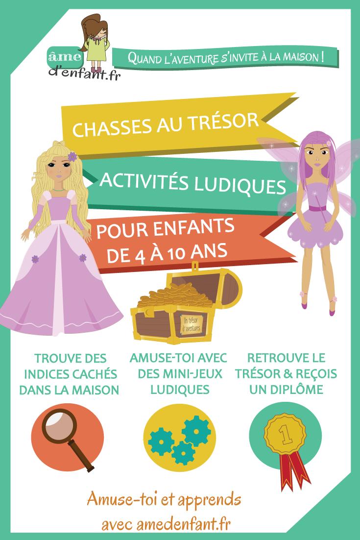 Chasse Au Trésor Pour Les Filles À Imprimer Incluant Un intérieur Jeux D Aventure Pour Les Filles