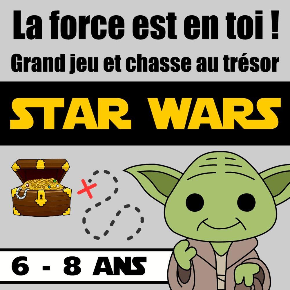Chasse Au Trésor Star Wars 6-8 Ans | Chasse Au Trésor, Star encequiconcerne Jeux Garçon 6 Ans Gratuit En Ligne