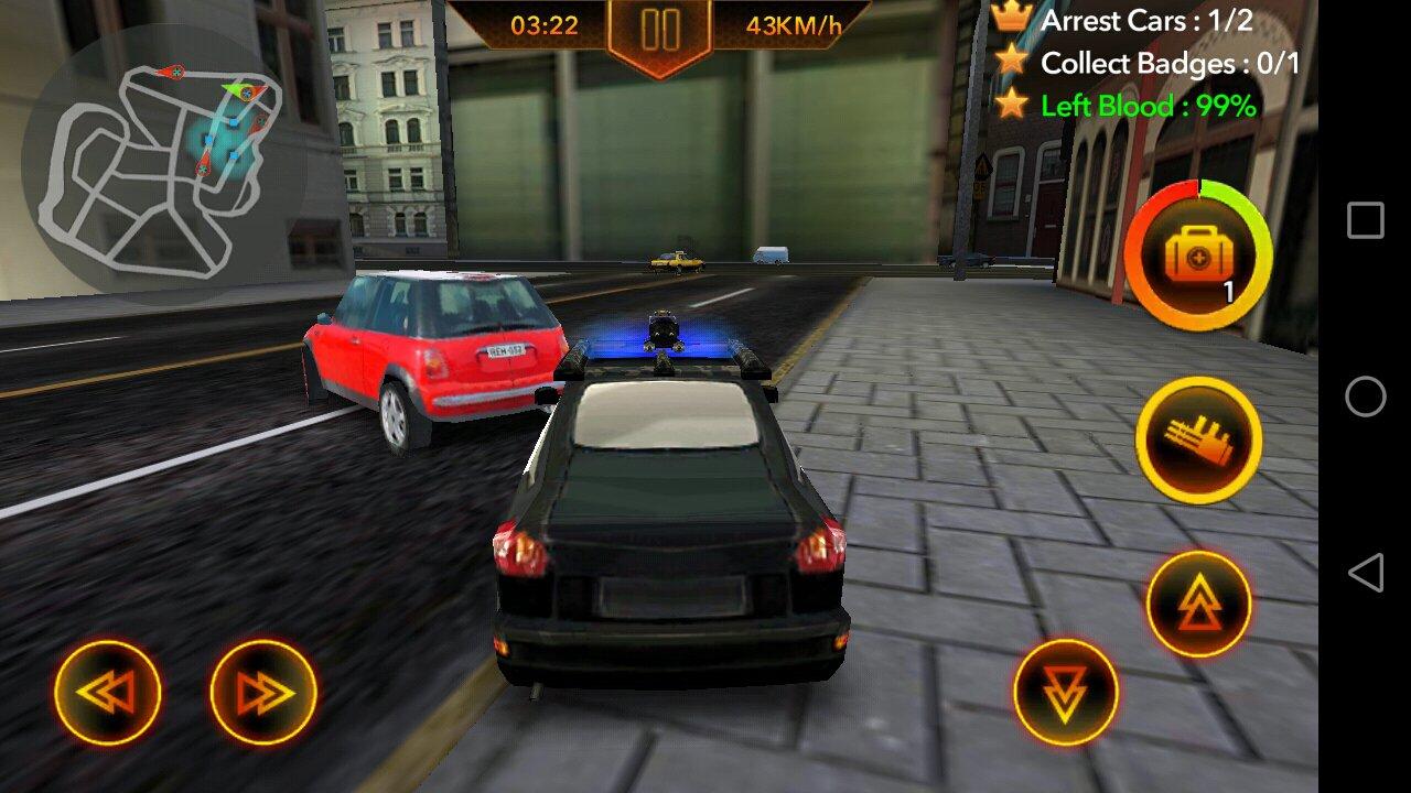 Chasse De Voiture De Police 1.0.4 - Télécharger Pour Android avec Jeux De Voiture Avec La Police