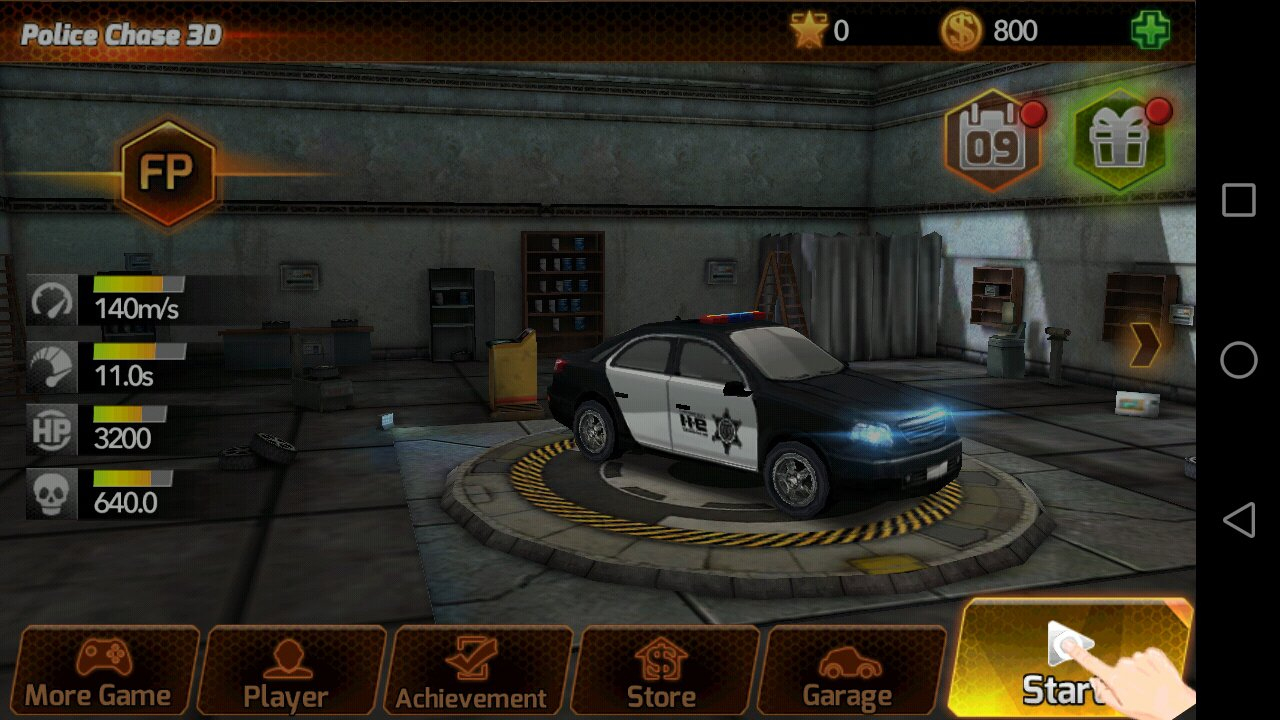 Chasse De Voiture De Police 1.0.4 - Télécharger Pour Android destiné Jeux De Voiture Avec La Police