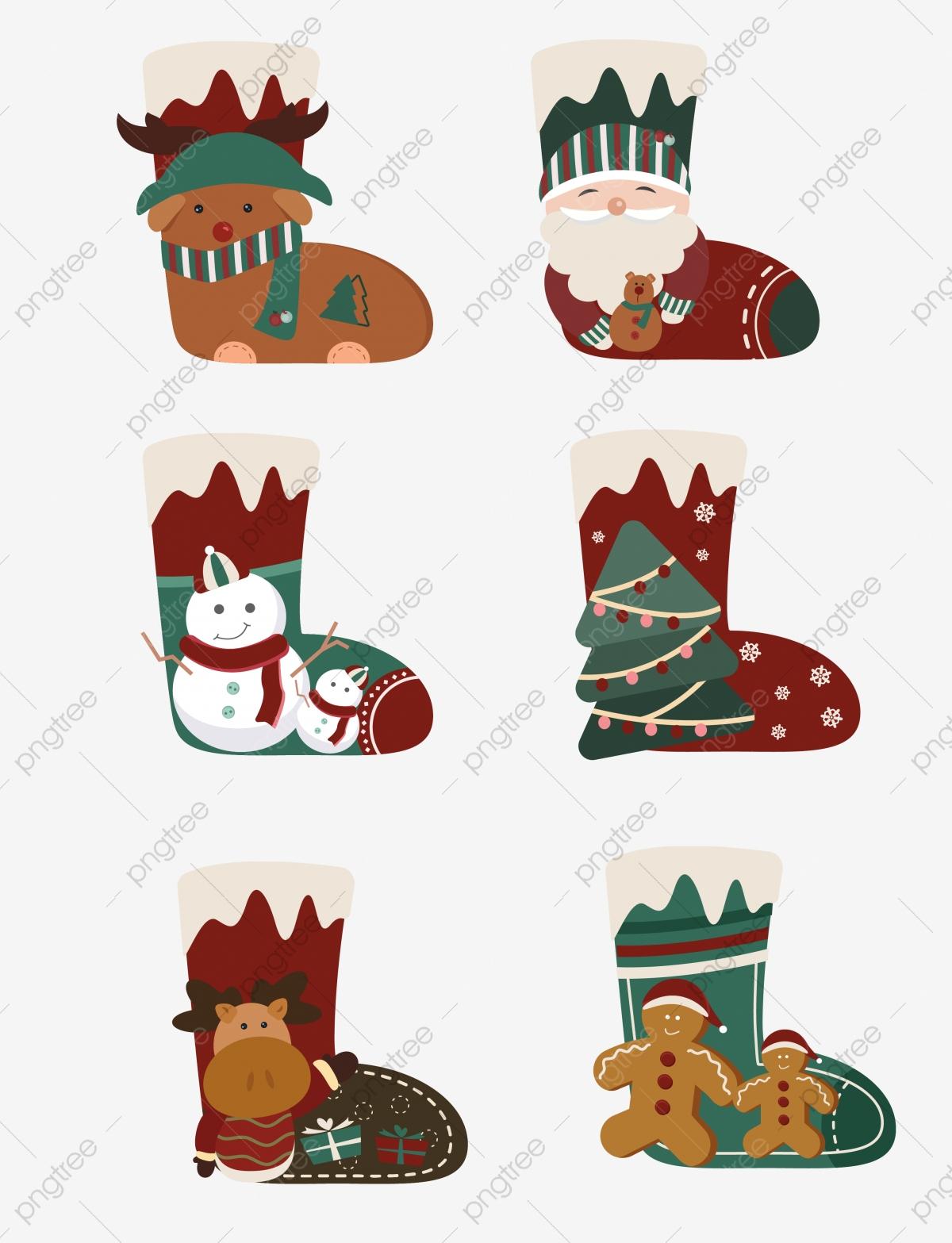 Chaussette De Cadeau Noël Illustration Jeu Mignon, De Noël à Jeu Pour Noel Gratuit