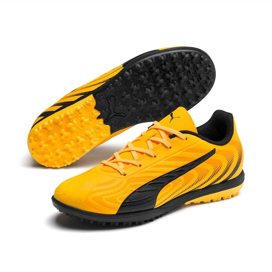 Chaussure De Foot Puma One 20.4 Tt Youth Pour Enfant, Orange dedans But Foot Enfant