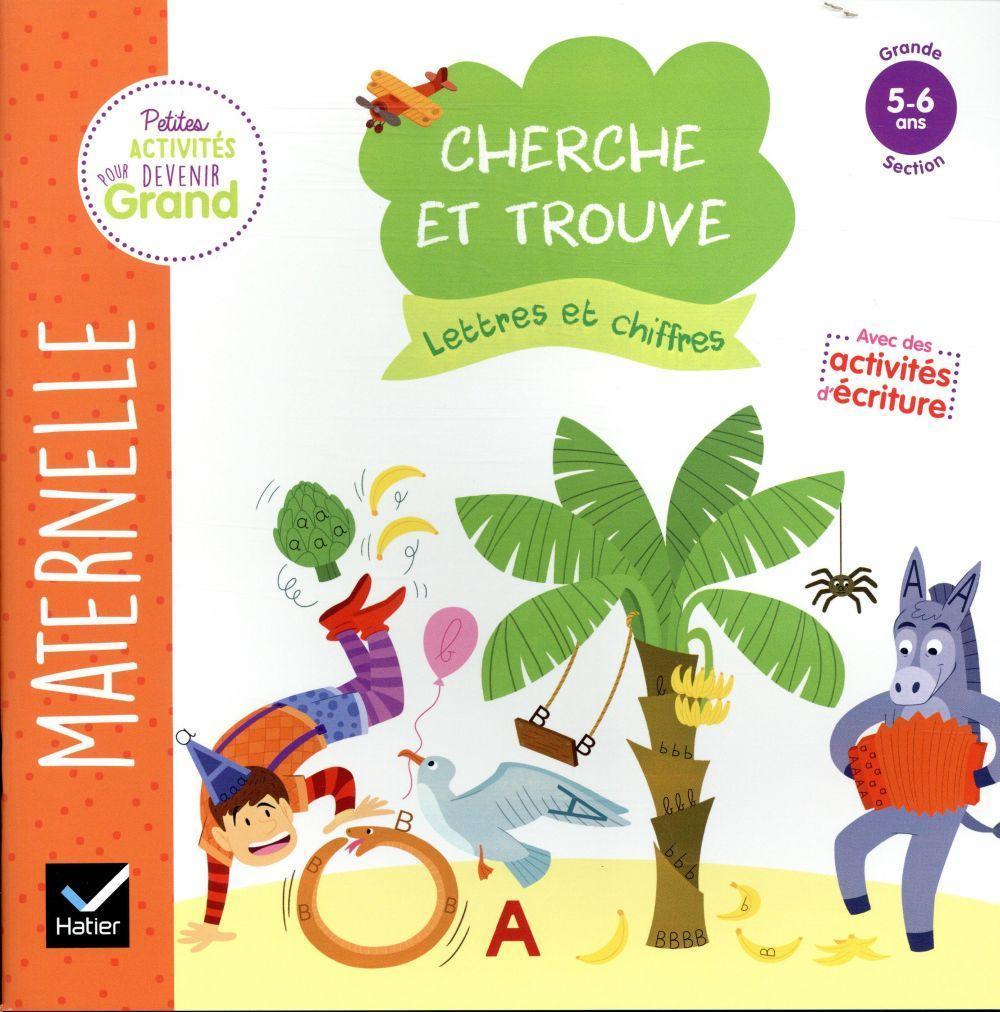 Cherche Et Trouve Lettres Et Chiffres Gs - Marie-Françoise Mornet -  Librairie Eyrolles dedans Écriture Chiffres Gs