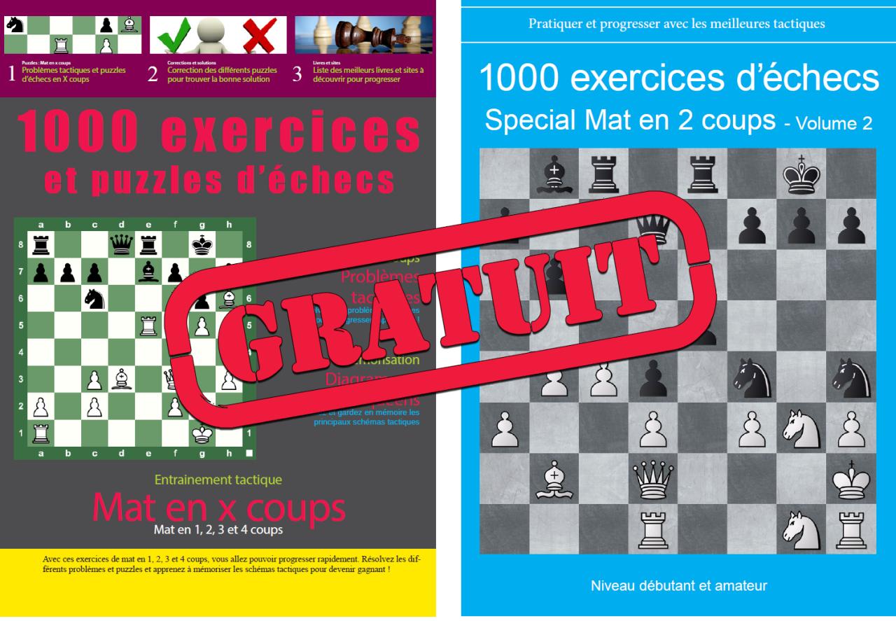 Chess Et Jeux D'échecs serapportantà Puzzles Gratuits Pour Tous