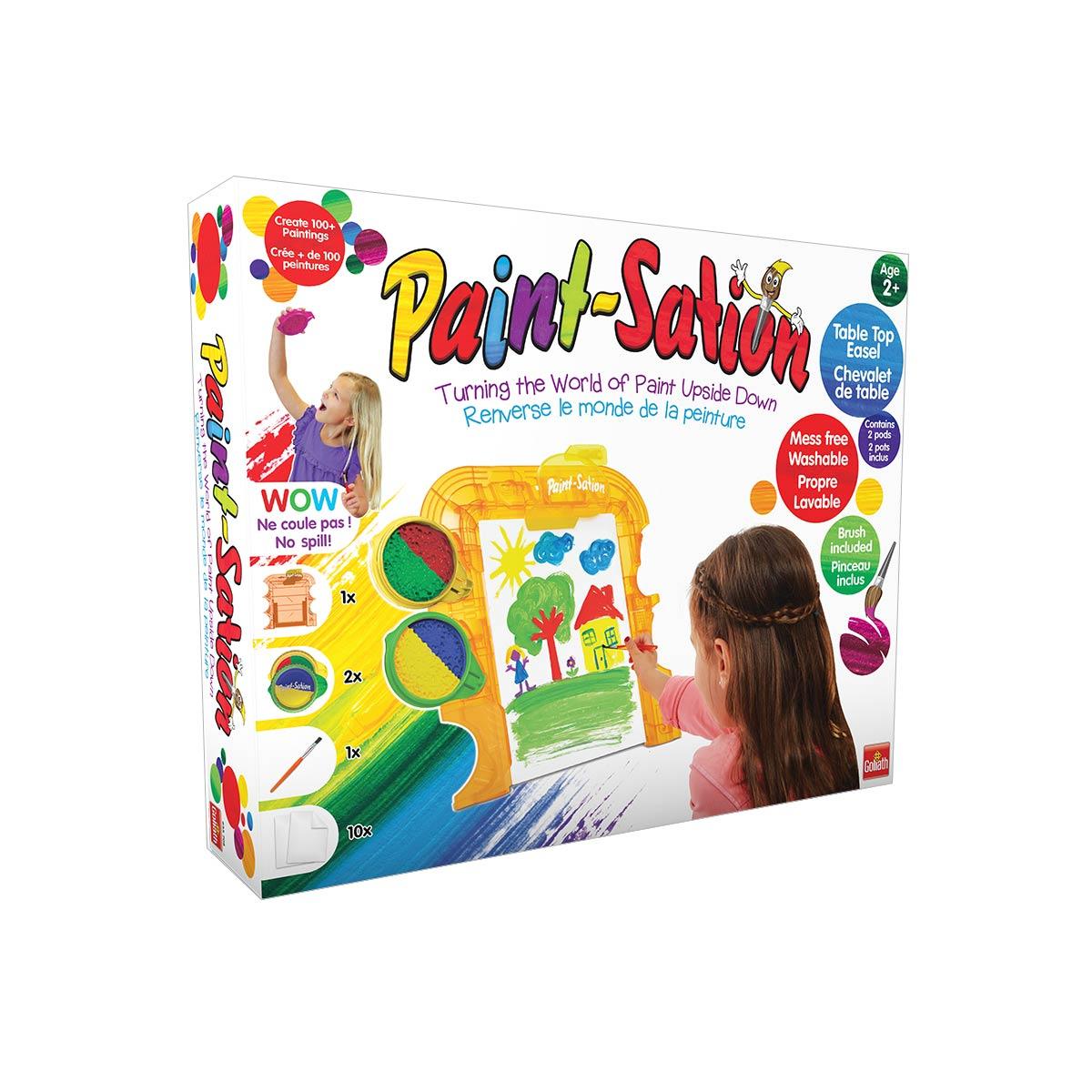 Chevalet De Peinture Paint Sation avec Jeux De Peinture Pour Fille