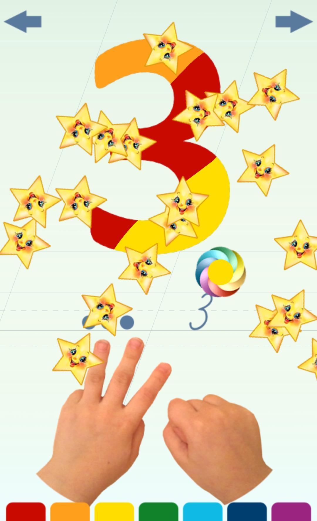 Chiffres Pour Enfants For Android - Apk Download destiné Chiffre Pour Enfant