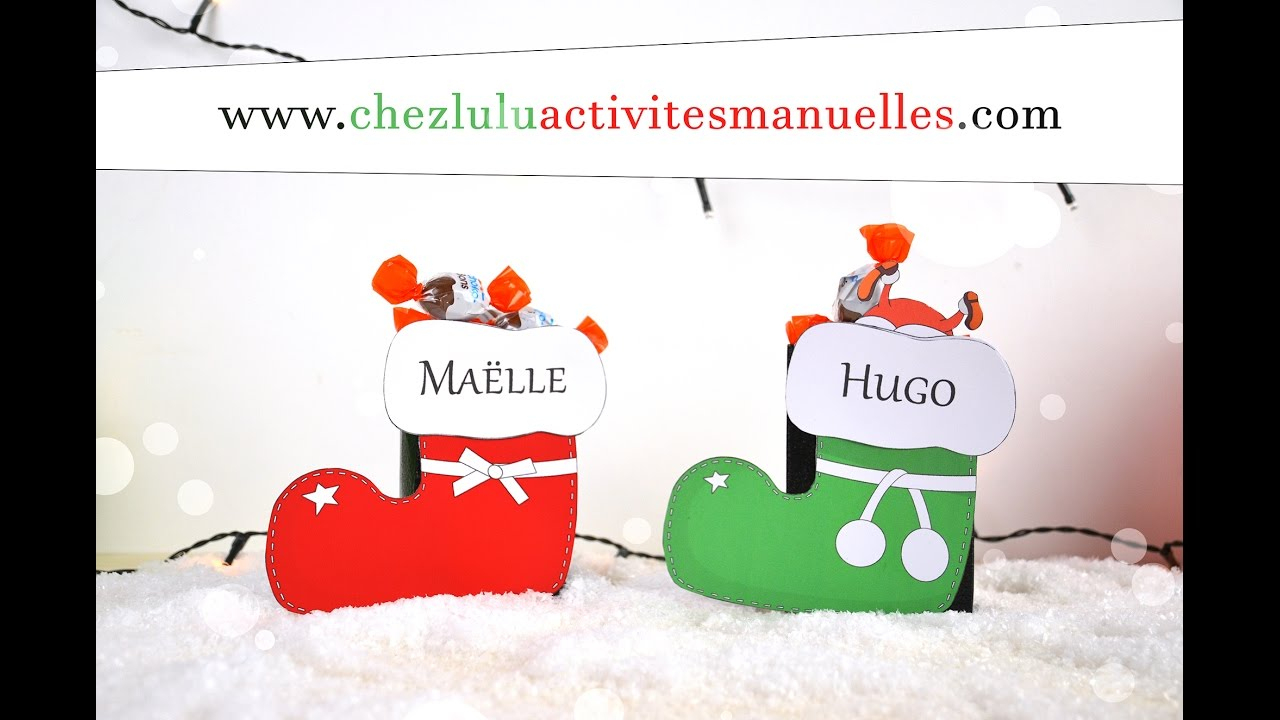Christmas Boots - Boxes For Chocolates - Craft Activity For Children - Diy tout Activité Manuel De Noel