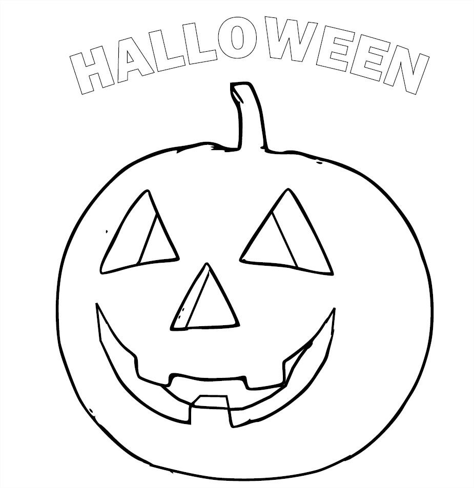 Citrouille : Coloriage Halloween Gratuit À Imprimer Et Colorier serapportantà Dessin Halloween Citrouille A Imprimer Gratuit