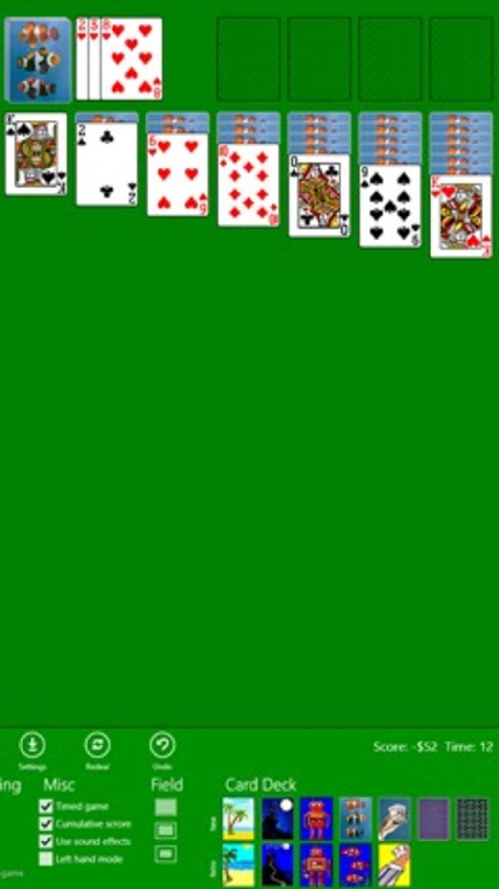 Classic Solitaire (Free) Pour Windows 10 (Windows) - Télécharger concernant Jeux De Cartes À Télécharger Gratuitement