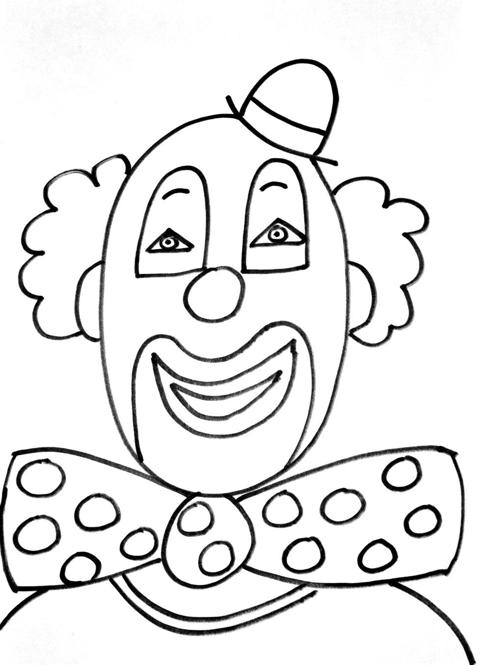 Clown #209 (Personnages) – Coloriages À Imprimer concernant Coloriage Clown A Imprimer