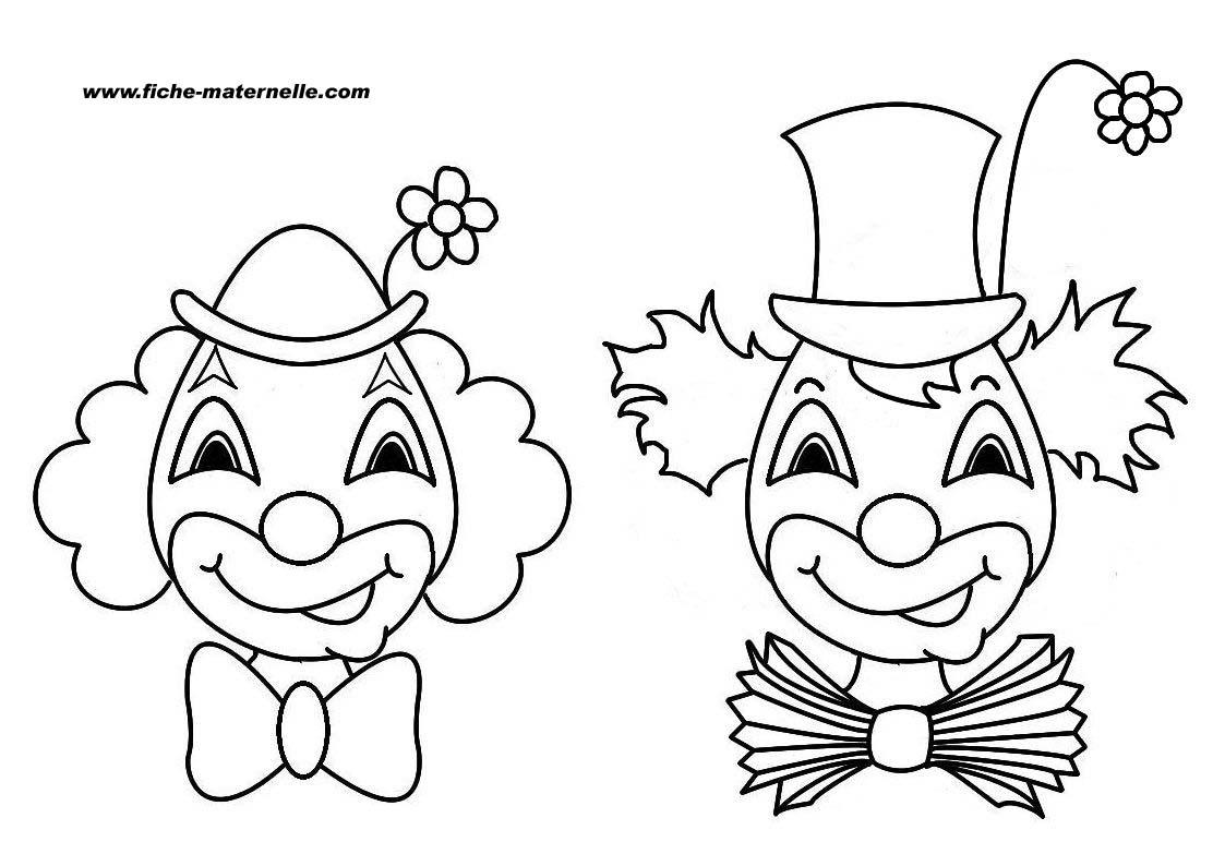Clown #71 (Personnages) – Coloriages À Imprimer concernant Coloriage Clown A Imprimer