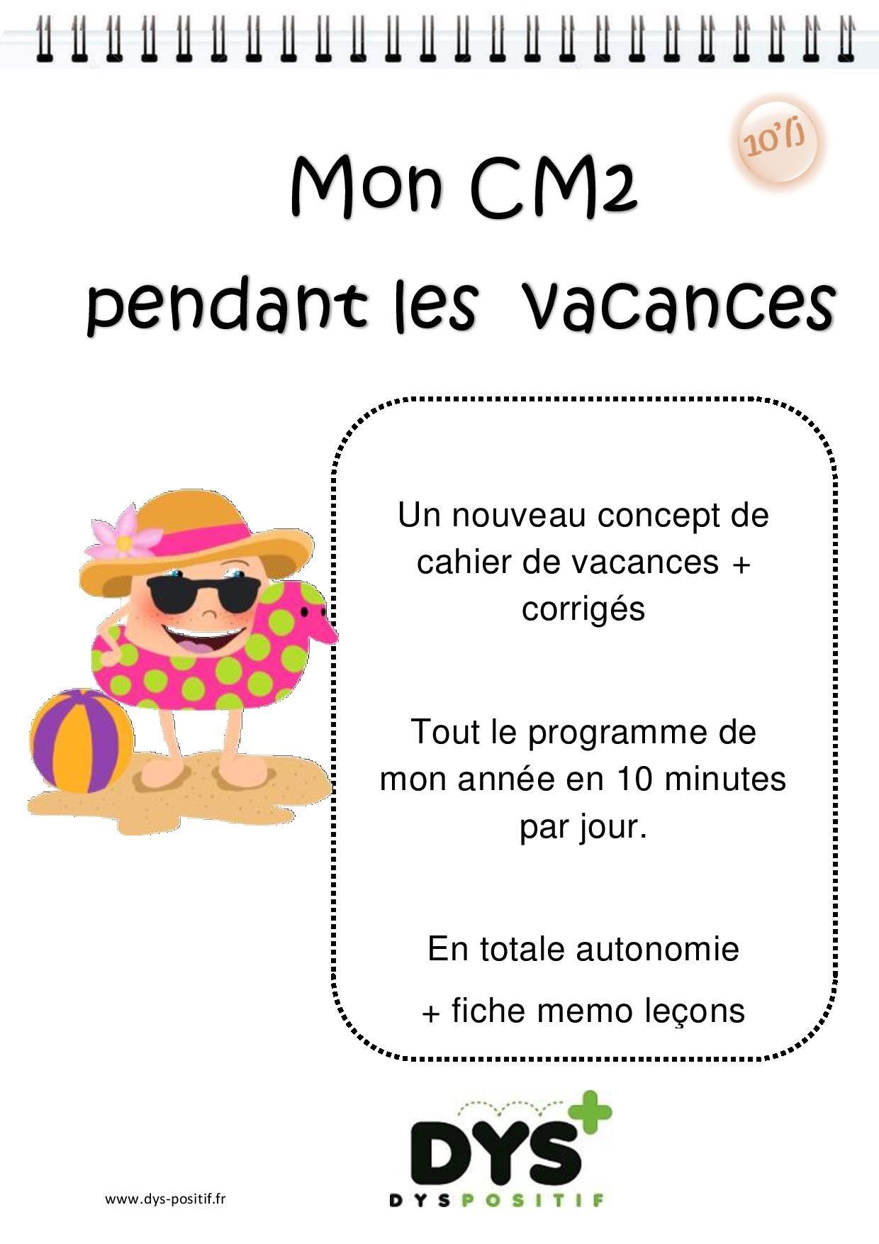 Cm2 – 5Ème Primaire – Fiches À Imprimer Et Exercices En intérieur Cahier De Vacances En Ligne