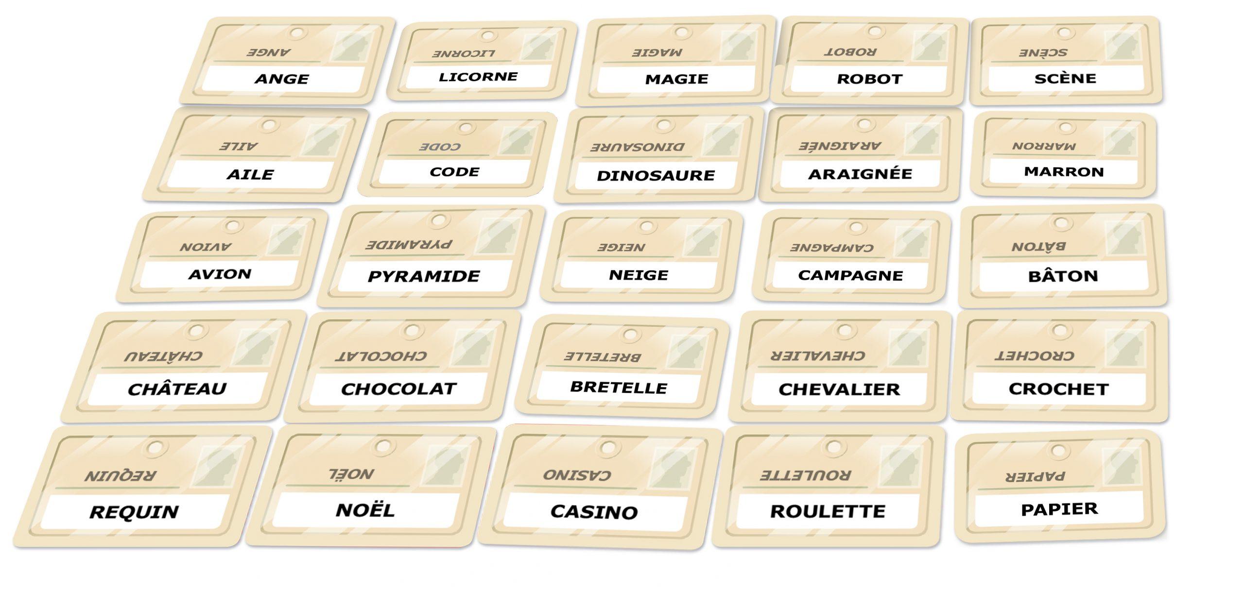 Codenames | Iello concernant Mots Codés À Imprimer
