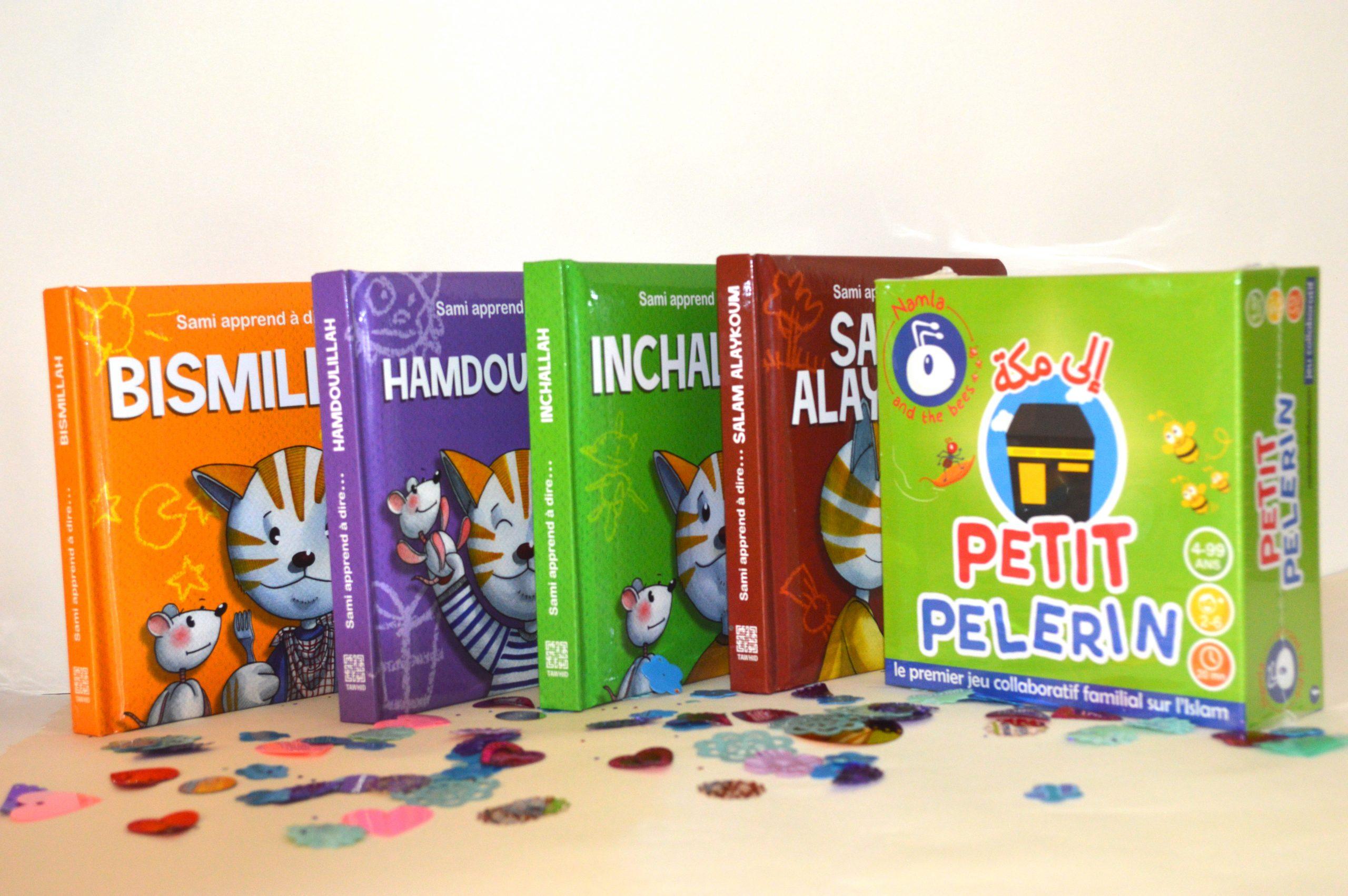 Coffret Enfant Islam 2-7 Ans - Jeu Petit Petit Pèlerin Et Collections De  Livres Pour Enfant Sami avec Jeu Pour Petit Garcon De 2 Ans