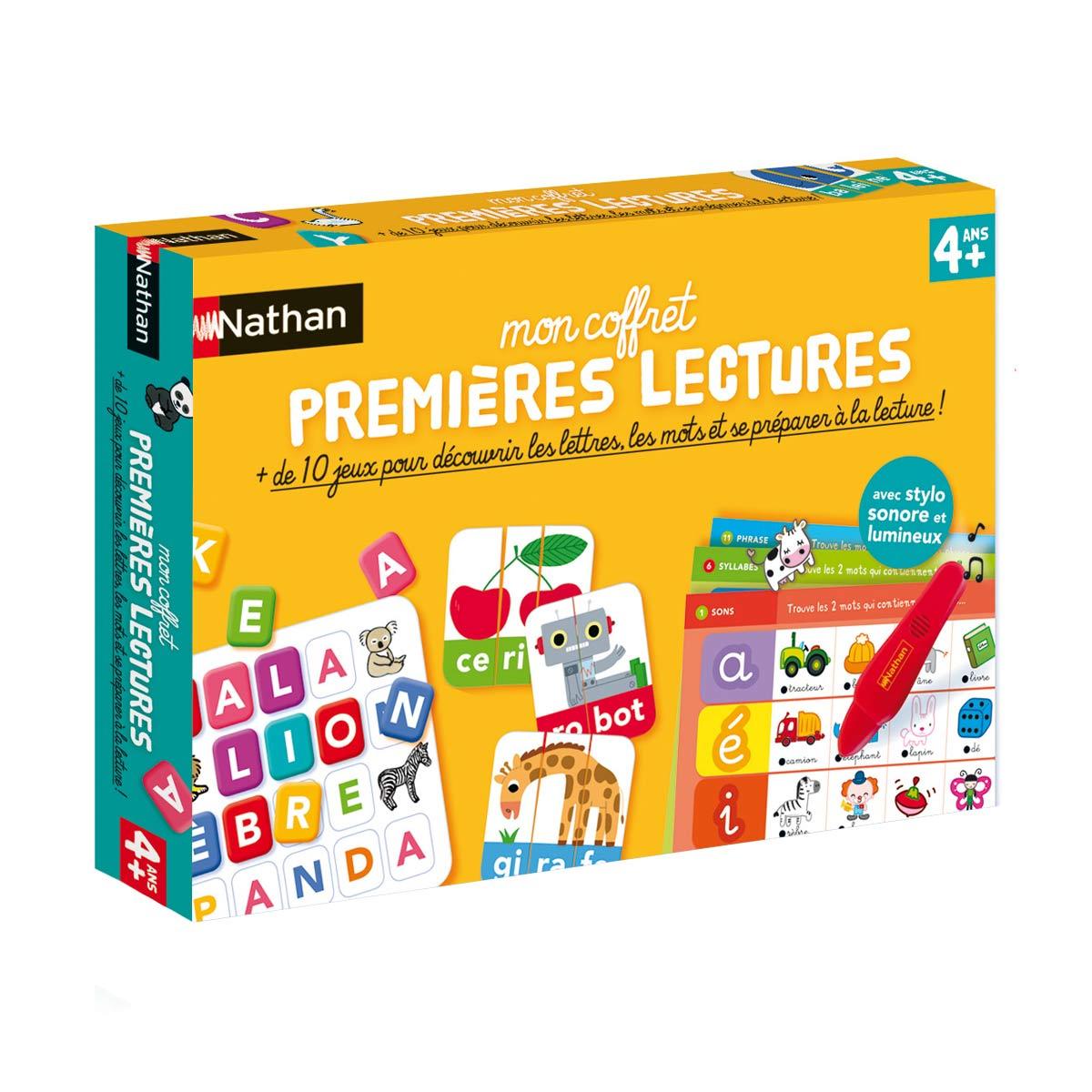 Coffret Premières Lectures intérieur Jeux Pour Apprendre À Lire 4 Ans