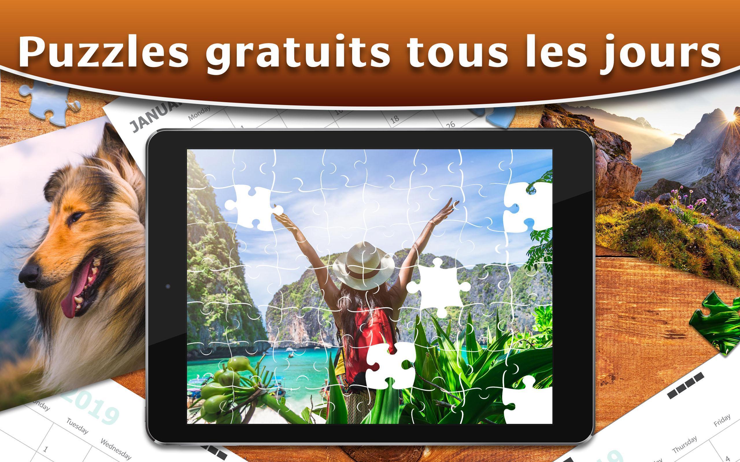 Collection Puzzle Hd - Puzzles Adultes Pour Android dedans Puzzles Adultes Gratuits