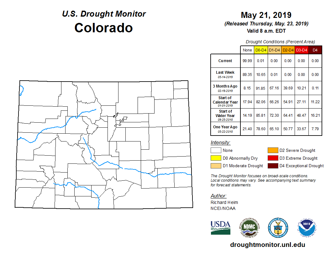Colorado Is 99.99% Drought-Free As Of Thursday, But Water serapportantà Sudoku Grande Section