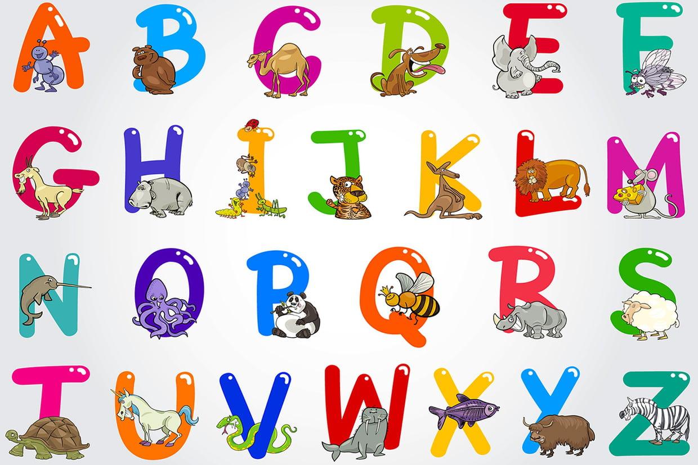 Coloriage Alphabet Animaux Et Oiseaux Sur Hugolescargot à Alphabet À Colorier Maternelle