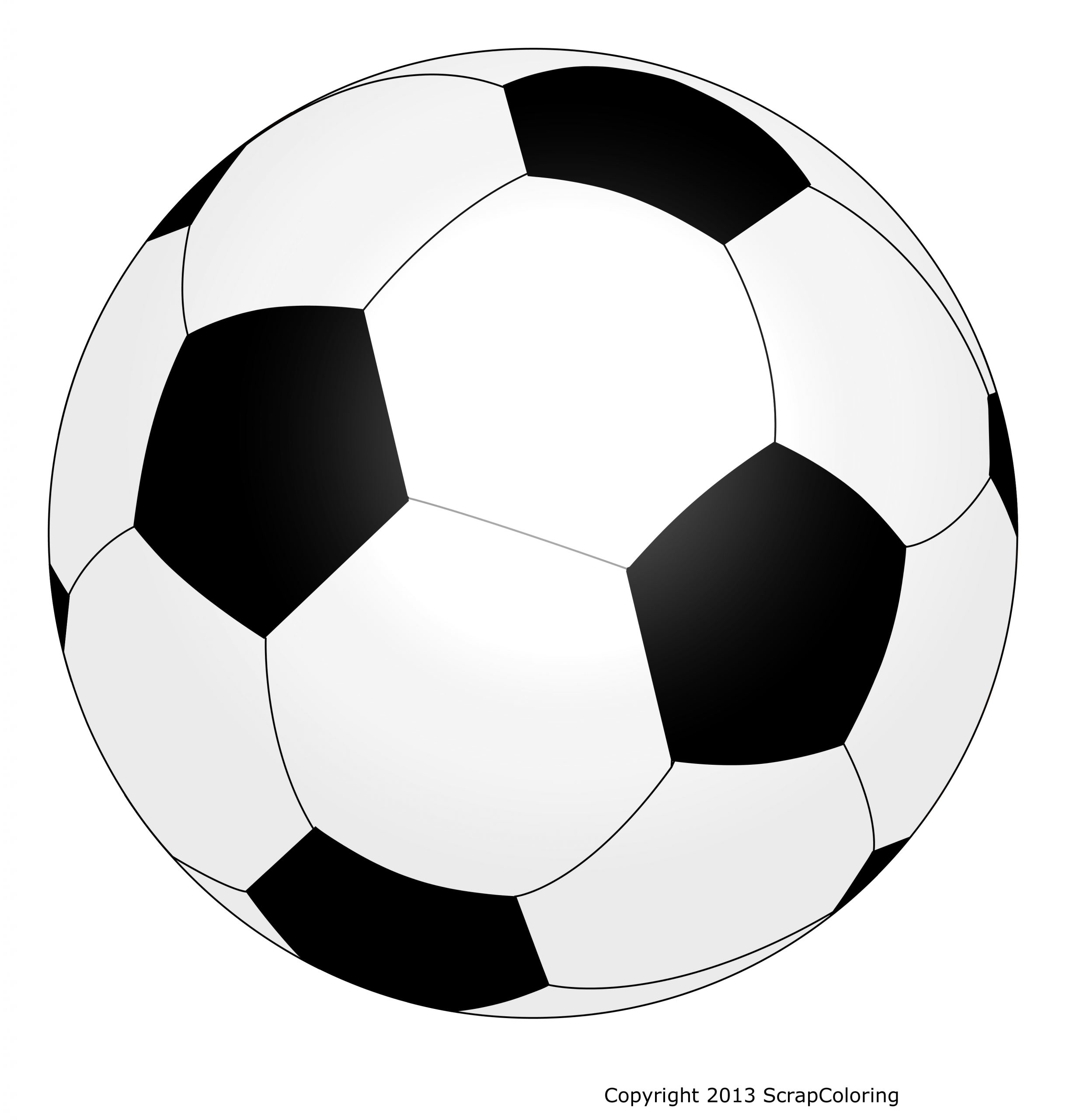 Coloriage Ballon De Foot intérieur Coloriage De Foot En Ligne