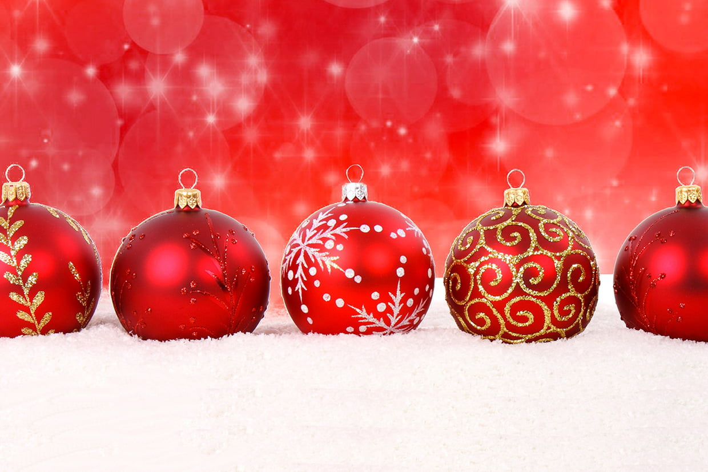 Coloriage Boules De Noël Sur Hugolescargot à Dessin De Noel En Couleur A Imprimer
