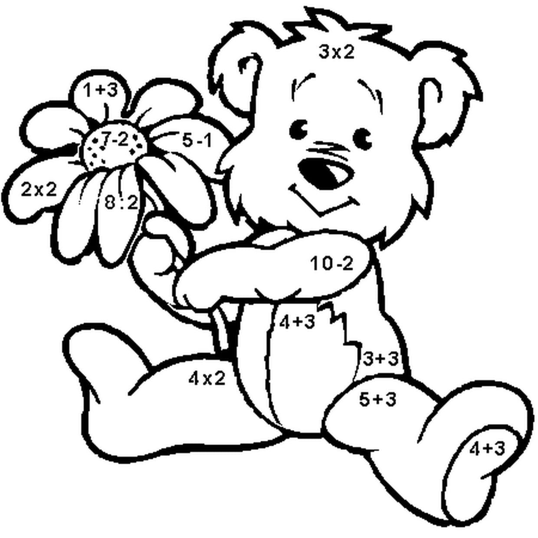Coloriage Calcul Magique En Ligne Gratuit À Imprimer tout Coloriage De Calcul