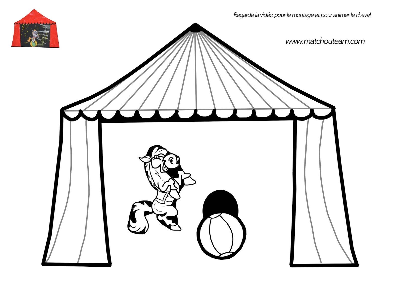 Coloriage Chapiteau Cirque | Liberate serapportantà Coloriage Cirque Maternelle