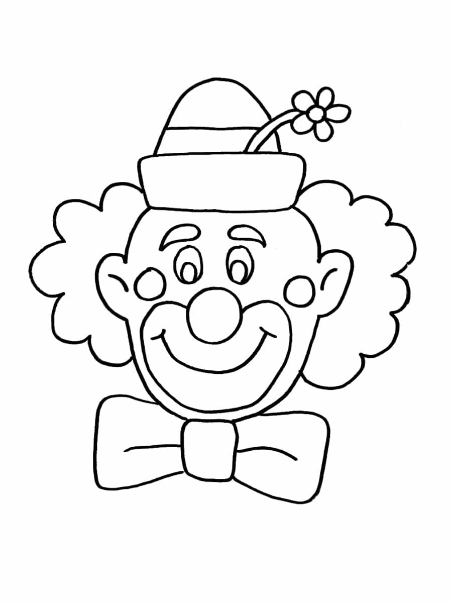 Coloriage Cirque : 28 Dessins À Imprimer Gratuitement concernant Coloriage Clown A Imprimer