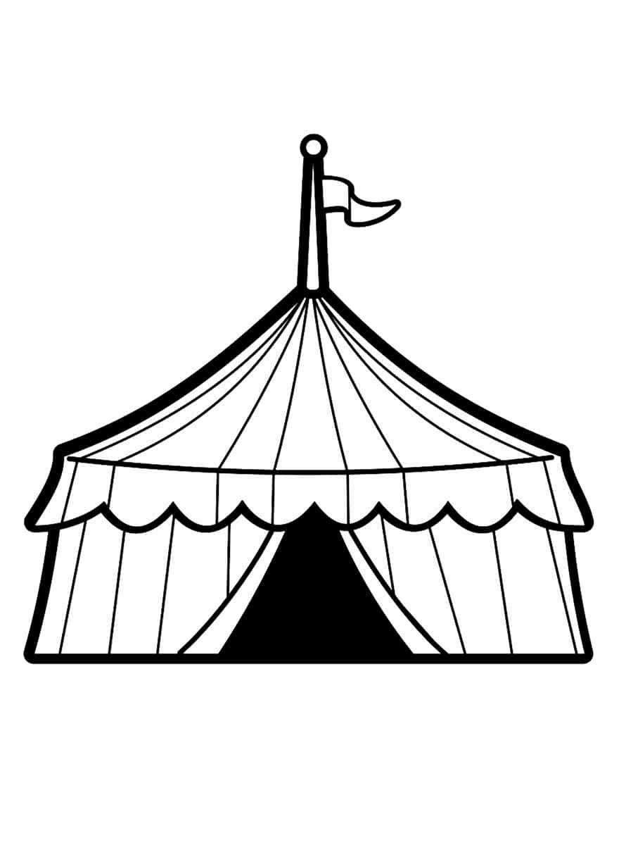Coloriage Cirque : 28 Dessins À Imprimer Gratuitement destiné Coloriage Cirque Maternelle