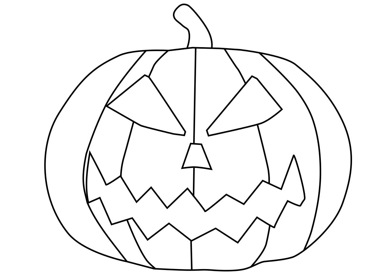Coloriage Citrouille Gratuit À Imprimer encequiconcerne Dessin Halloween Citrouille A Imprimer Gratuit