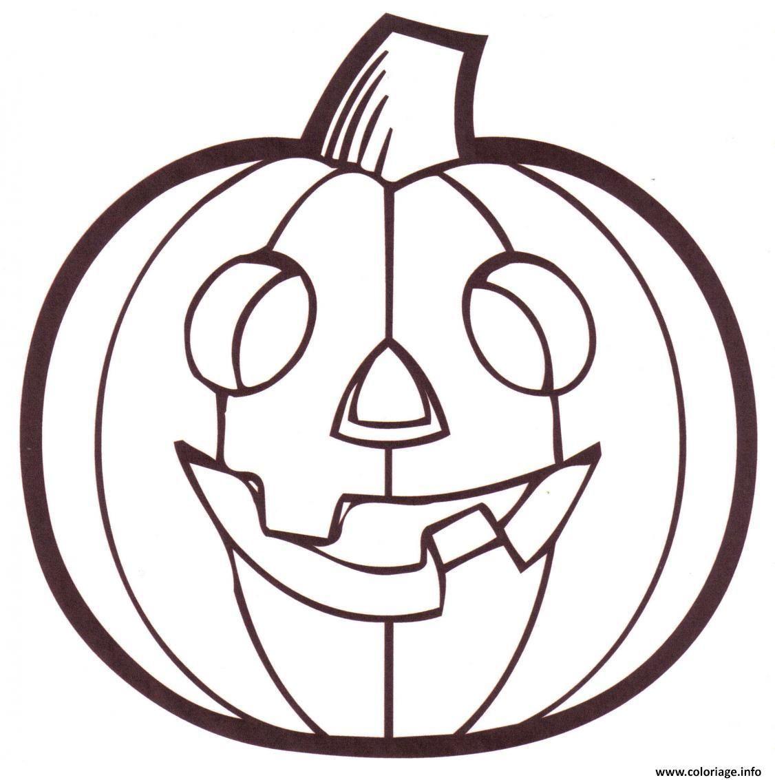 Coloriage Citrouille Halloween Dessin À Imprimer Coloriage encequiconcerne Dessin Halloween Citrouille A Imprimer Gratuit