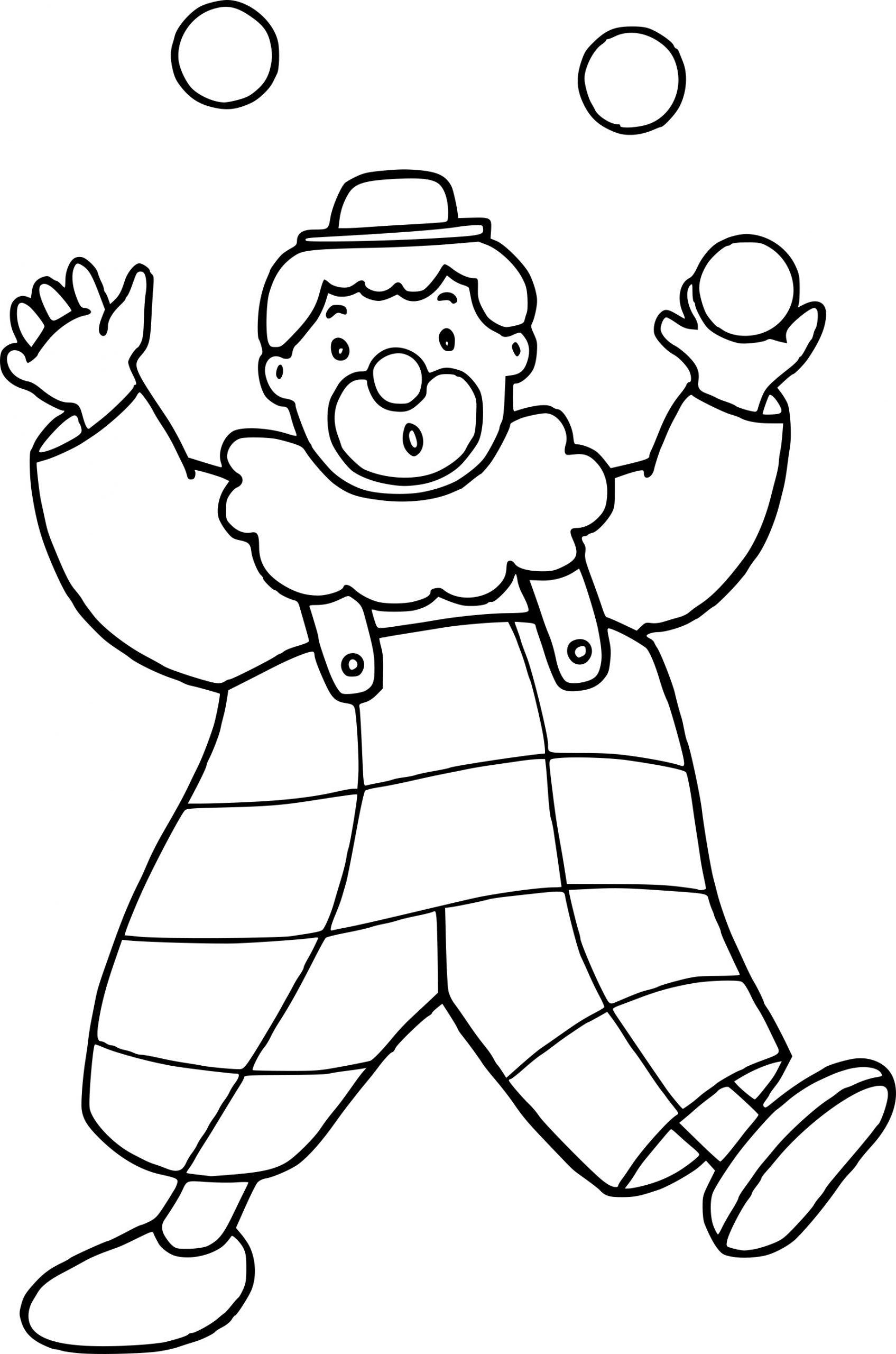 Coloriage Clown Ballon Dessin À Imprimer Sur Coloriages pour Coloriage Clown A Imprimer