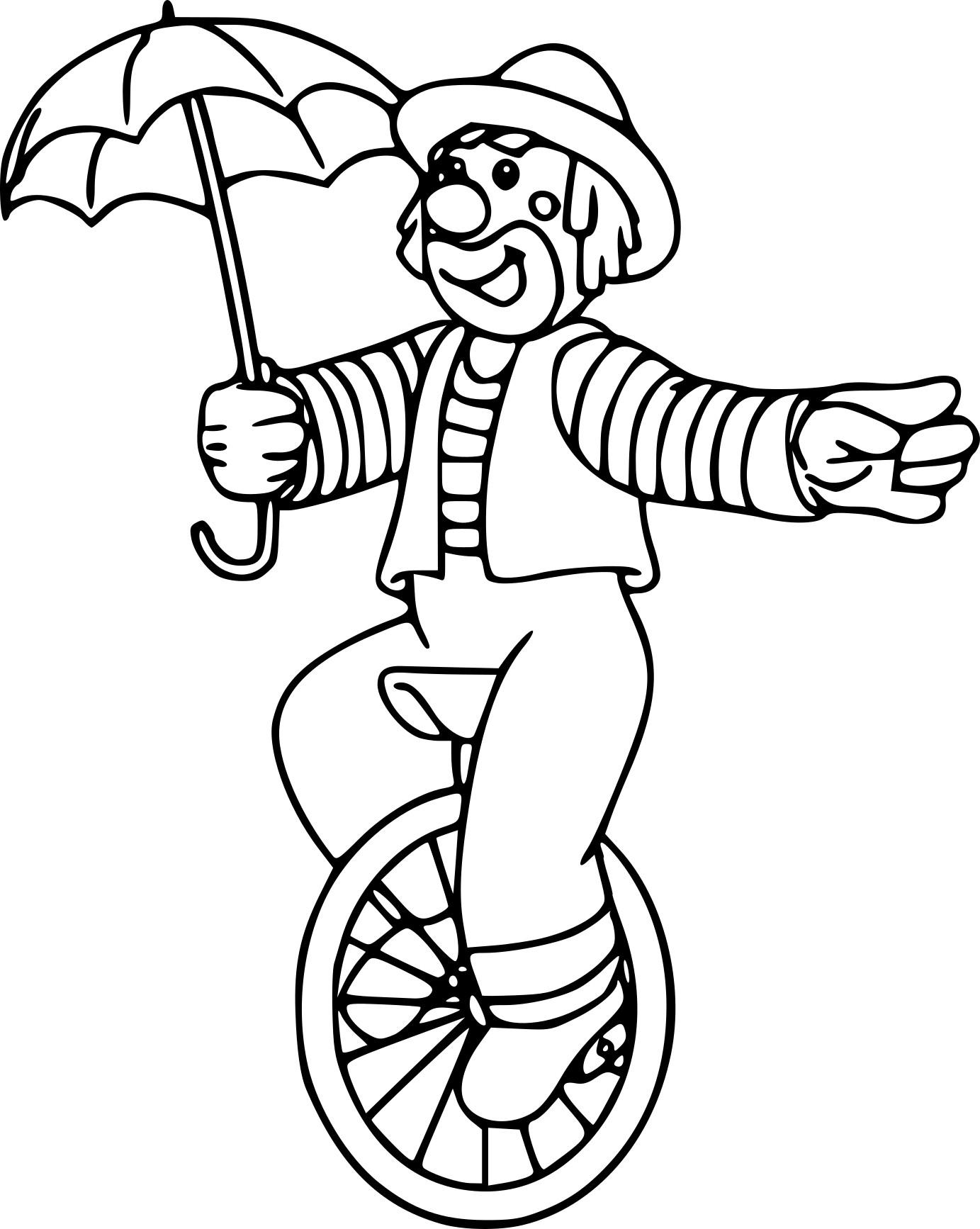 Coloriage Clown De Cirque À Imprimer Sur Coloriages avec Coloriage Clown A Imprimer