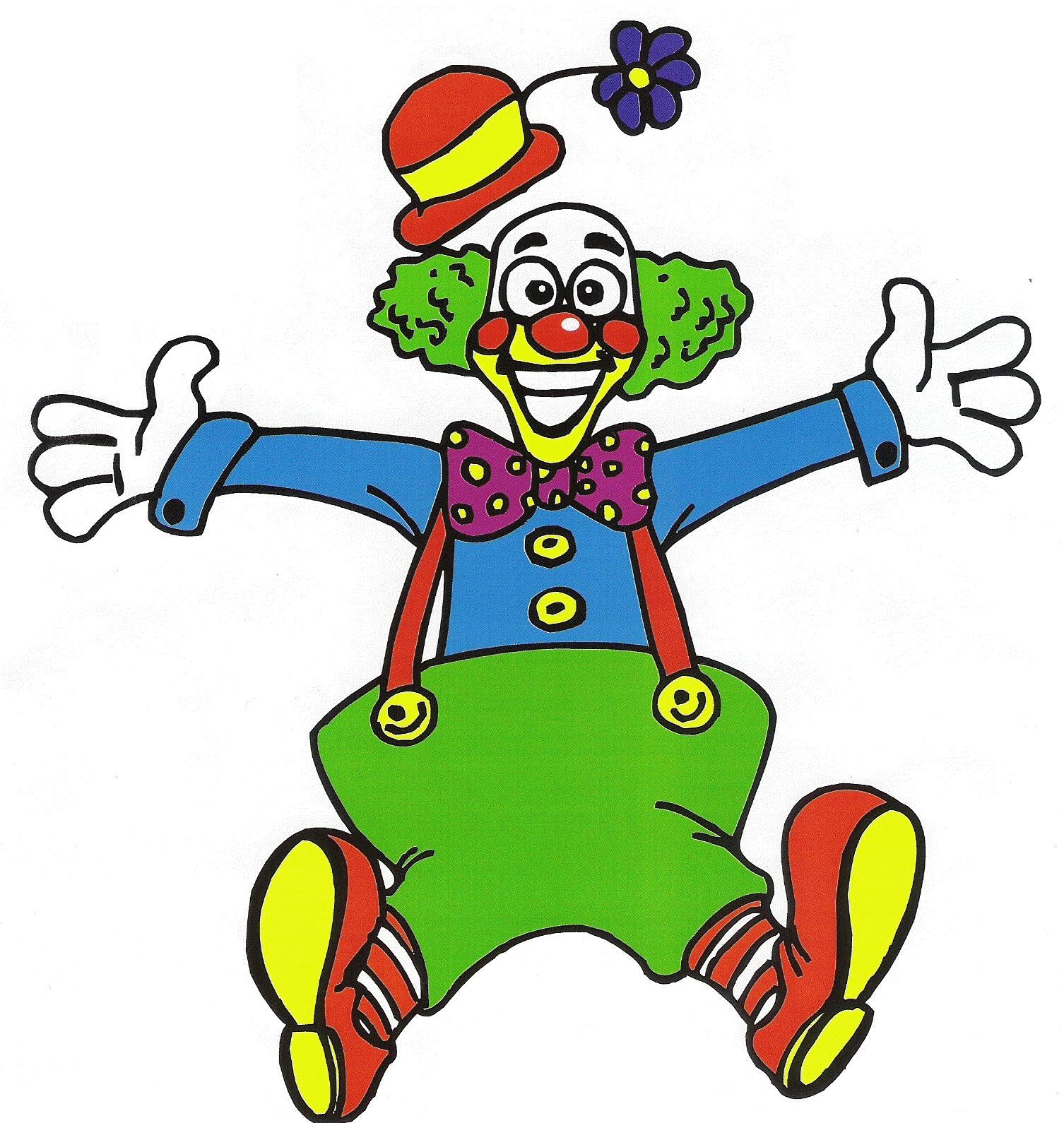 Coloriage Clown Fait Son Show À Imprimer Et Colorier concernant Dessin De Clown En Couleur