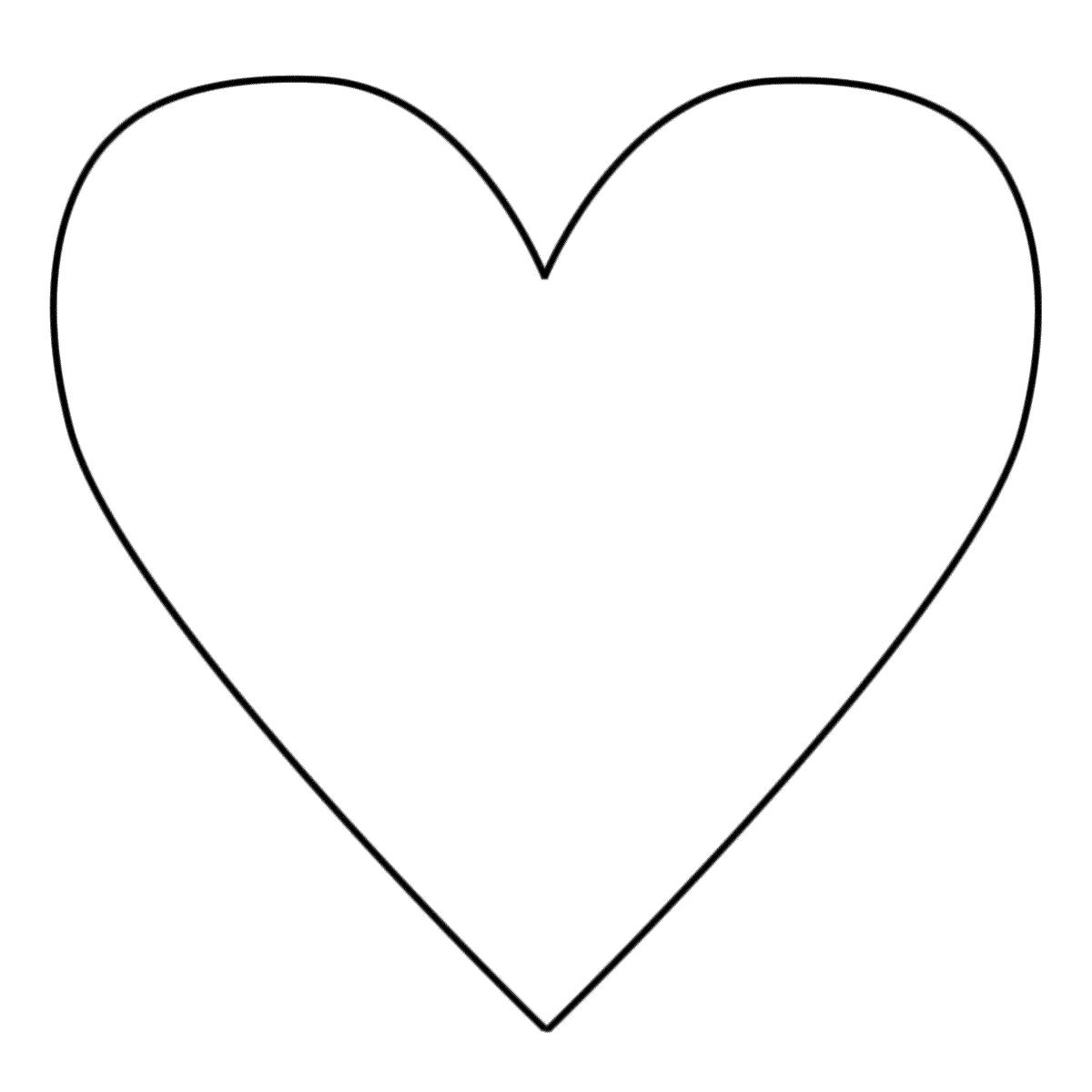 Coloriage Coeur - Les Beaux Dessins De Autres À Imprimer Et avec Coeur A Imprimer Et Decouper