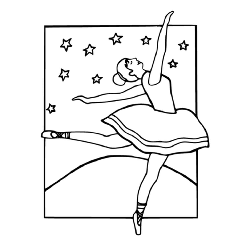 Coloriage Danse Classique En Ligne Gratuit À Imprimer destiné Dessin De Danseuse A Imprimer