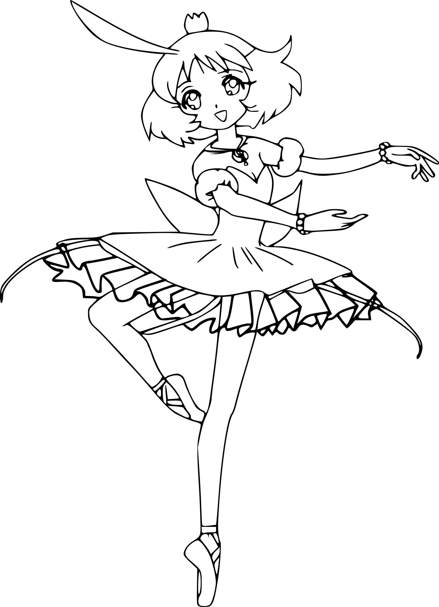 Coloriage Danseuse Tutu À Imprimer Sur Coloriages tout Dessin De Danseuse A Imprimer