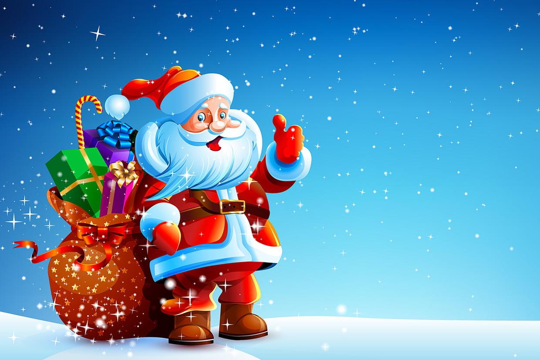 Coloriage De Noël Gratuit À Imprimer Sur Hugolescargot à Papier À Lettre Père Noel À Imprimer Gratuitement