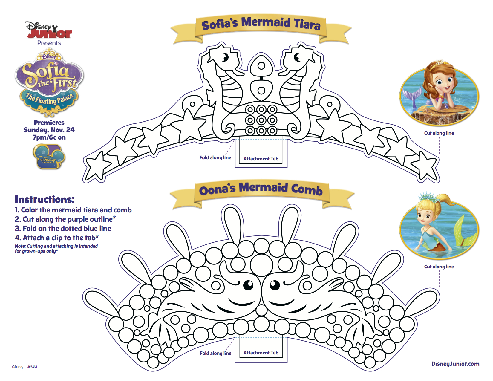 Coloriage De Princesse Sofia Disney À Telecharger encequiconcerne Coloriage Princesse Sirene