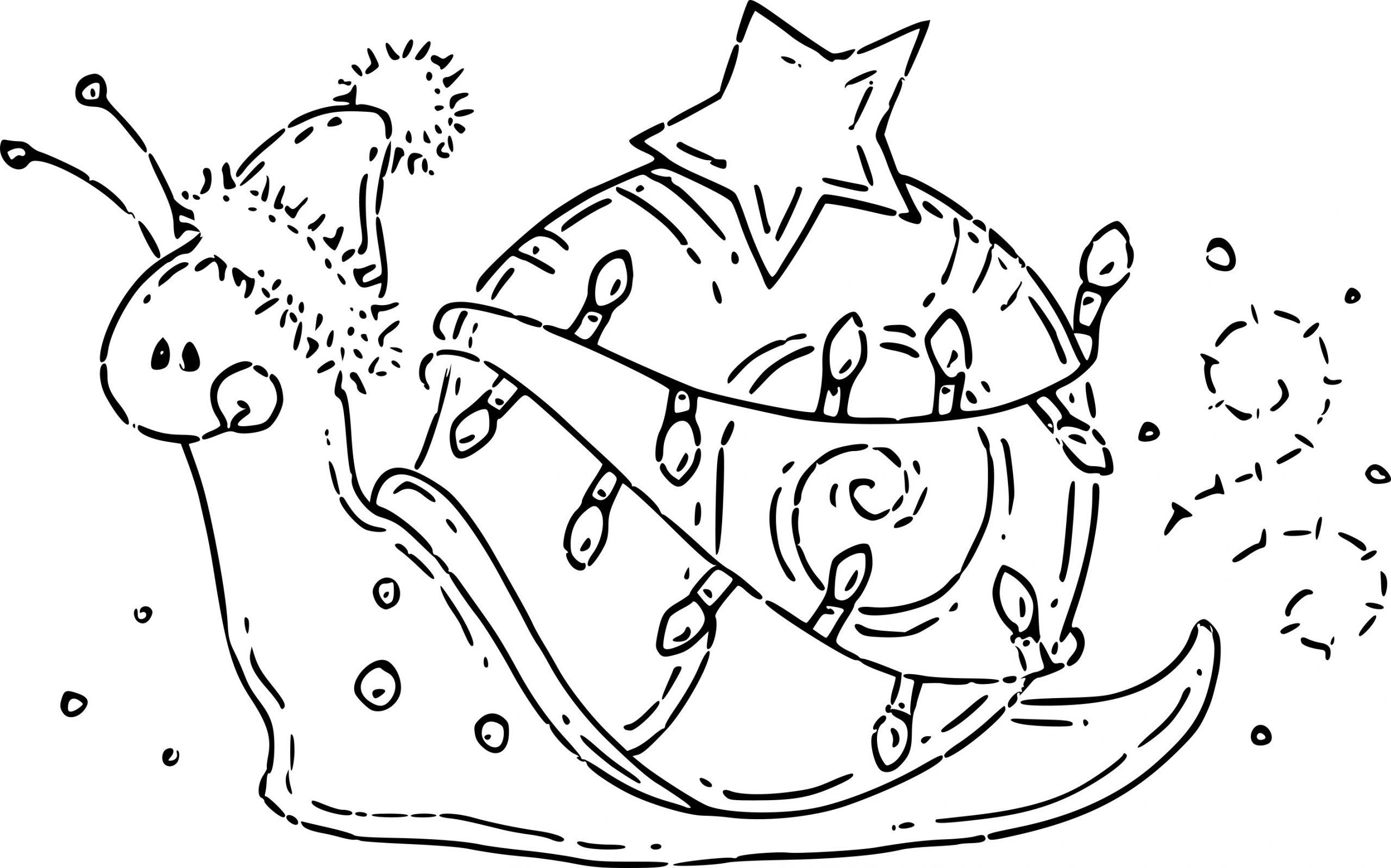 Coloriage Escargot À Noël À Imprimer Sur Coloriages intérieur Coloriage De Mode À Imprimer
