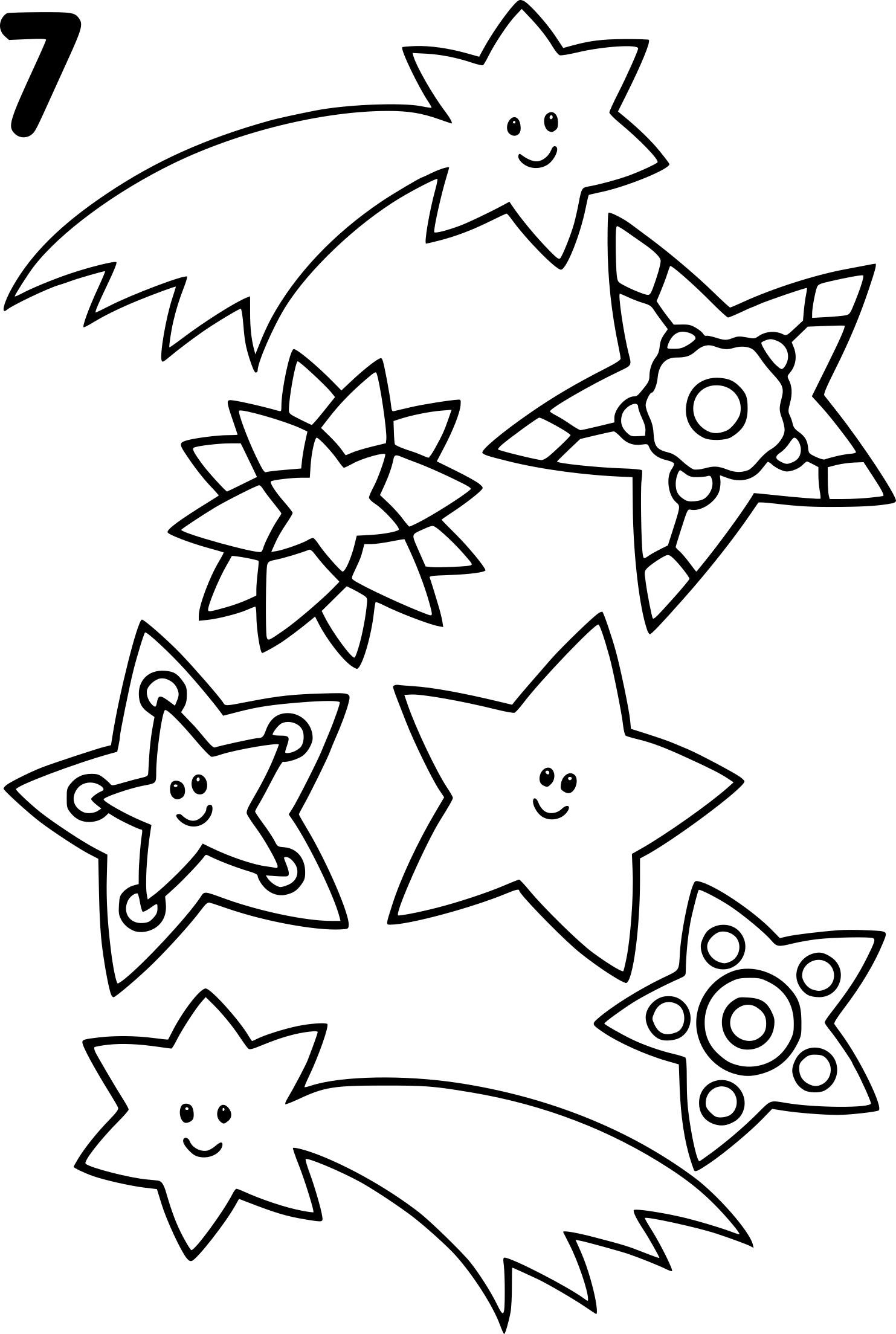 Coloriage Etoile Filante Et Noel À Imprimer Sur Coloriages tout Dessin A Colorier De Noel Gratuit A Imprimer