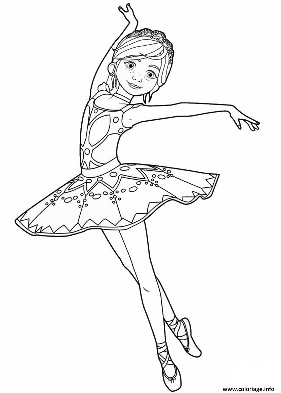 Coloriage Felicie Milliner De Ballerina Danseuse Opera Dessin serapportantà Dessin De Danseuse A Imprimer
